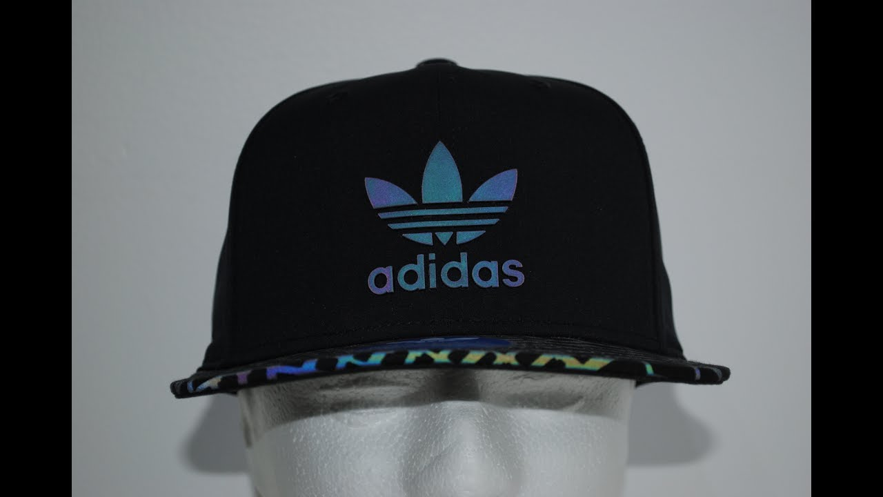 reputable site d4a94 1425a Adidas Originals Xeno Reflective Irridescent Cap Product Presentation By  CrimeClothing.co.uk