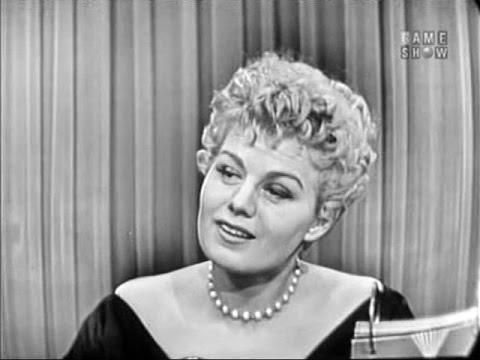 What's My Line?  Shelley Winters Jan 30, 1955