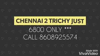 Chennai to trichy offer