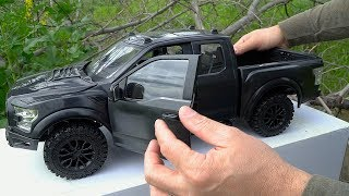 RC4WD Unboxing & RC First Run  - RTR 4WD Realistic RC Truck