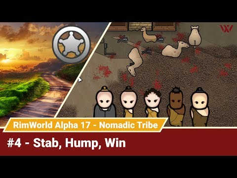 "Rimworld Nomadic Tribe #4 """" No-Pause Challenge! Alpha 17 Gameplay Let's Play"