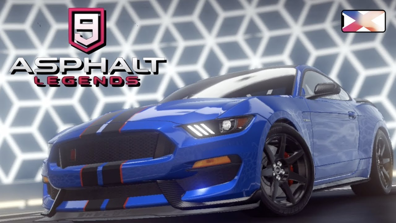 Asphalt 9 legends ford shelby gt35or iphone gameplay