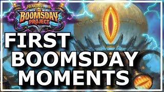 Hearthstone - Best of Boomsday Project First Moments
