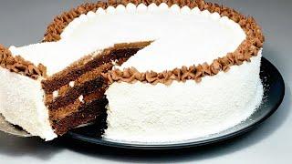 ЛЮБИМЫЙ Шоколадный торт ОЧЕНЬ Вкусный просто приготовить SUBTITLES