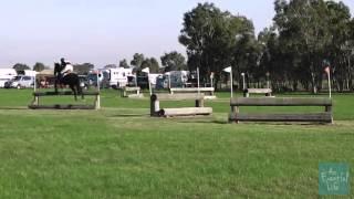 Katherine Blade riding Gallant Princess 10 Level 1 HRCAV TTT Horse Trials 2013