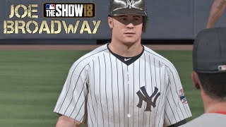 """RED SOX RALLY DOWN THE STRETCH"" MLB 18 RTTS Joe Broadway Road To The Show MLB The Show 18 RTTS"
