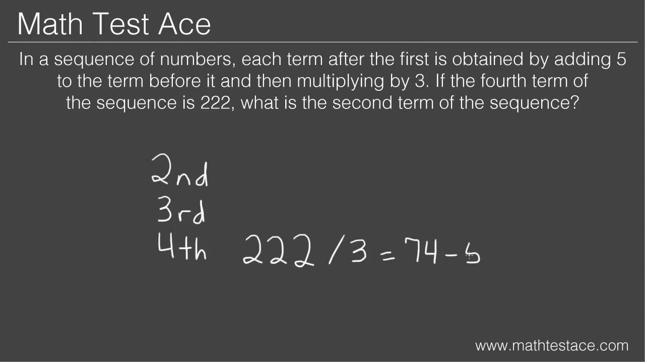 How to Solve Arithmetic and Geometric Sequence Word Problems