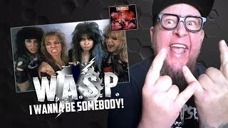 """Baixar Reaction to W.A.S.P  """"I Wanna Be Somebody"""" Video"""