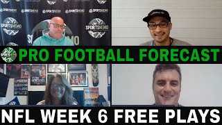 NFL Week 6 Picks and Predictions | NFL Betting Tips | Sportsmemo Football Forecast