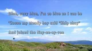【歌えるオールディーズ 97】 ネイビー・ブルー (ダイアン・リネイ)