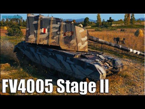 БАБАХА НЕ ИМБА ✅ World of Tanks FV4005 Stage II лучший бой