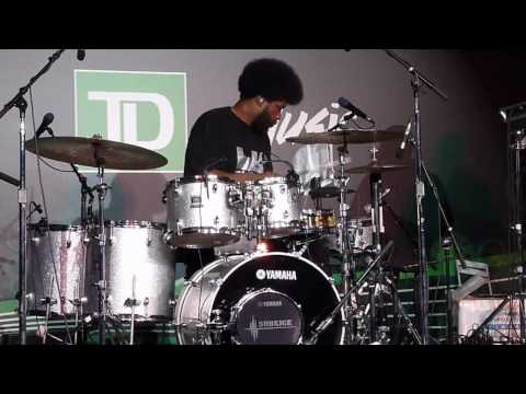 QuestLove Drum Solo Live at Toronto Jazz Festival