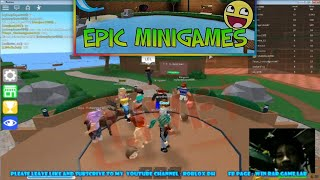 Roblox Epic Minigames | W/Little Brother