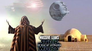 MASSIVE The Rise Of Skywalker Leaks Revealed! (Star Wars Episode 9 Spoilers)