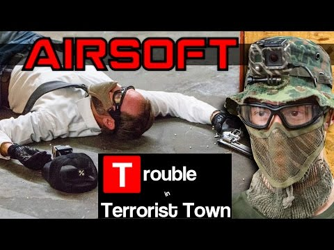 Airsoft TTT - Flawless Traitors (ft. Novritsch, Jet, Evike, Airsoftology, BrainExploder)