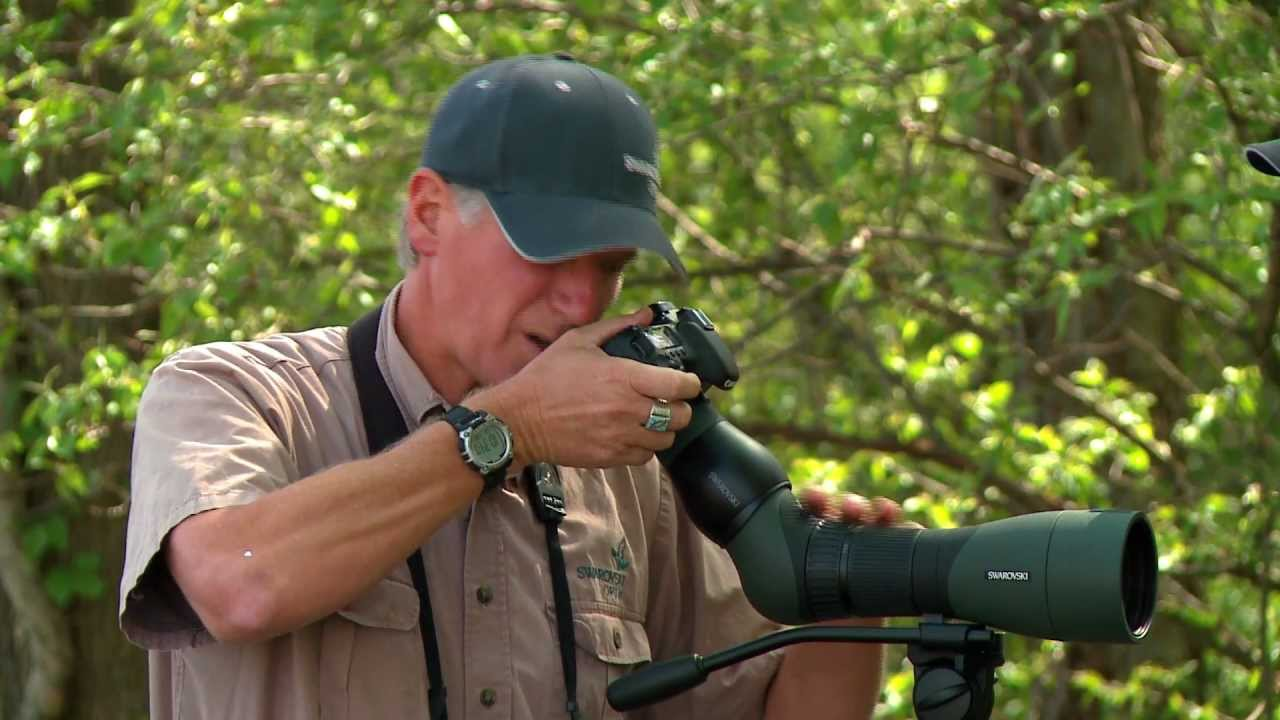 Swarovski Optik Atx Spotting Scope With The Camera Adapter Tls Apo