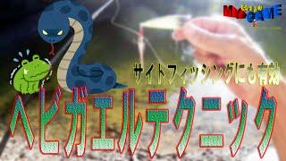 【脱中級】サイトフィッシングでも有効《ヘビガエルテクニック》を紹介 【バス釣り心理論】 ~まるりんのMY GAME~