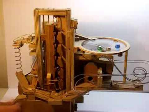 Marble Machine Complete Original Ball Lifter By Cesardeb1
