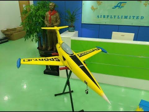 AF model sport jet with SW60B turbine
