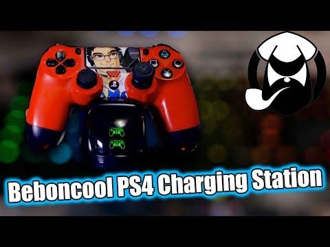 Beboncool PS4 Dual Charging Dock Station