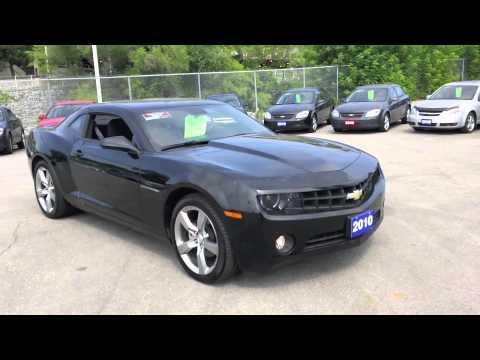 2010 chevrolet camaro 1lt rs black youtube. Black Bedroom Furniture Sets. Home Design Ideas