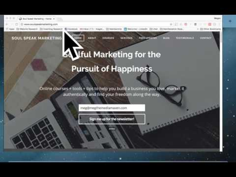 How to Add a Mail Chimp Sign-up Form to Your Website