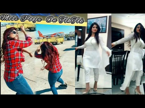 Miss Pooja New TikTok Videos।TikTok MUSICAL STAR ।fishcut ।Acting, Comedy। @themisspooja