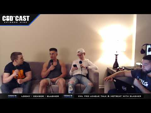 THE CODCAST EPISODE 9 FEATURING SLASHER, LOONY AND CENSOR