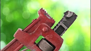 Broken Pipe Wrench Hack || Make A Useful Tool