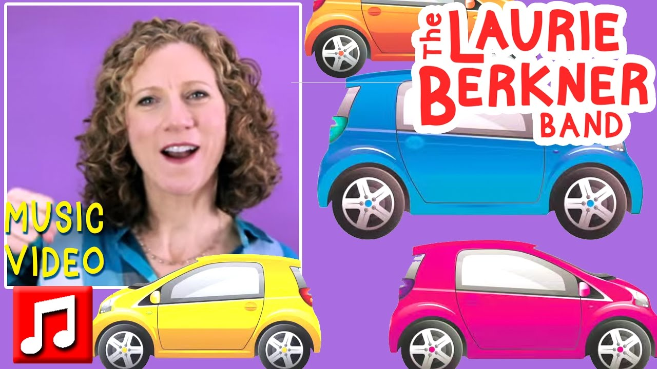 Best Kids Songs Drive My Car By Laurie Berkner The Ultimate Band Cd You