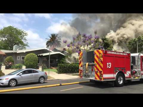 Ardmore Ave fire 29 April 2016