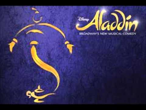 Disney's Aladdin The Broadway Musical-Babkak, Omar, Aladdin, Kassim