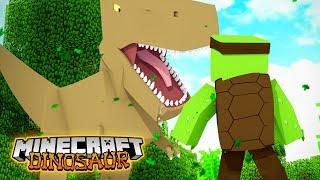 Working in JURASSIC PARK #1 - Minecraft Dinosaurs