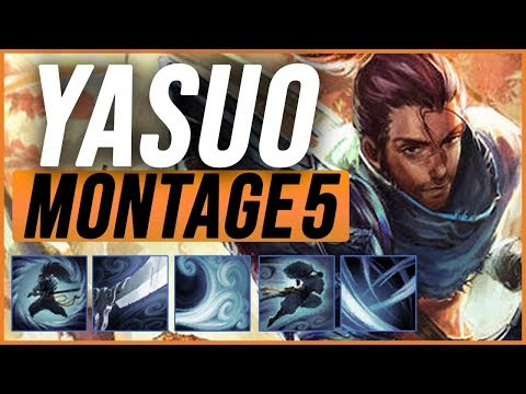 Yasuo Montage 5 - Best Yasuo Play pre-season 9 - League of Legends thumbnail