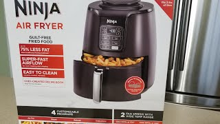 2018 Ninja 4qt Ceramic Airfryer with Reheat,Roast & Dehydrate function Air Fryer Review + First use