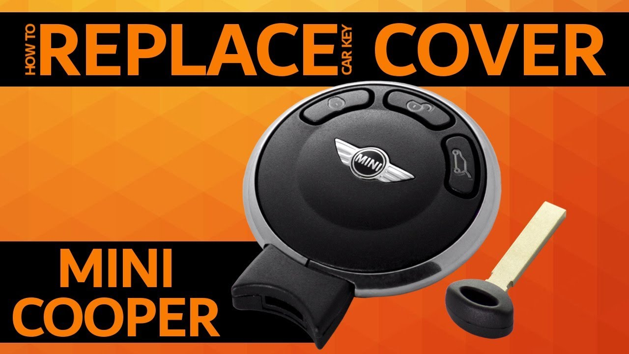 Mini Cooper How To Replace Car Key Cover