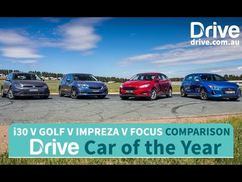 2017 Hyundai i30, Golf, Focus, Impreza 2017 Drive Car of the Year