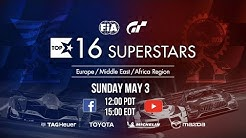 Gran Turismo Sport Top 16 Superstars showdown - EMEA Region [English]