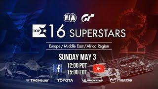 Gran Turismo Sport Top 16 Superstars showdown - EMEA Region [English]