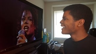 "MICHAEL JACKSON - ""Human Nature"" Live At Wembley (REACTION)"