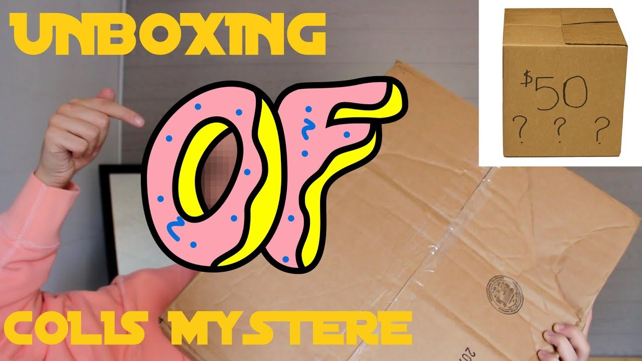 f95b0e16e8f7 Unboxing  ODD FUTURE MYSTERY GIFT BUNDLE  FR  - YouTube