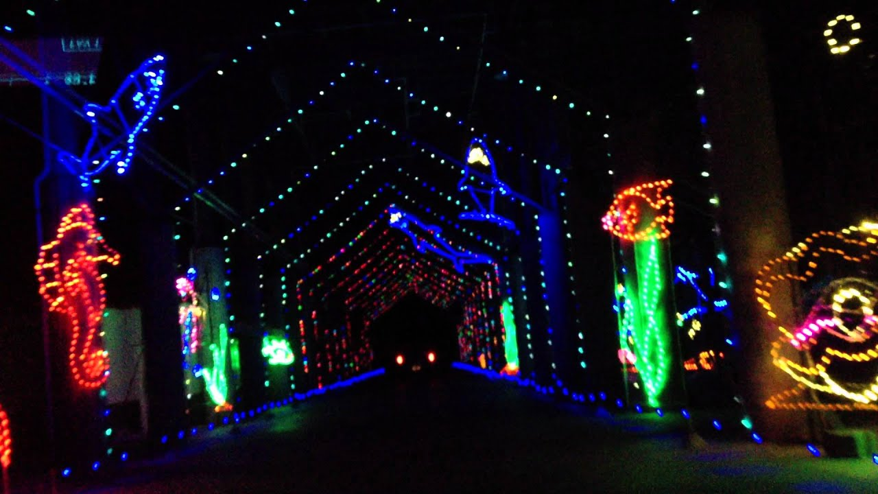 Bristol Motor Speedway Christmas Lights Show Youtube