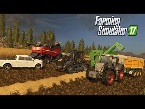 🚜Farming Simulator 17 | BIG HARVEST | Fendt 939 Black Beauty & Challenger Stealth !