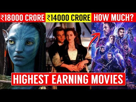 TOP 10 Highest Earning Movies Of All Time | Avengers Endgame Collection