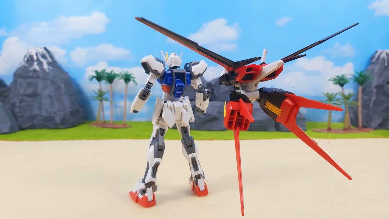 HG 1/144 エールストライクガンダム HGCE Aile Strike Gundam Stop Motion Build