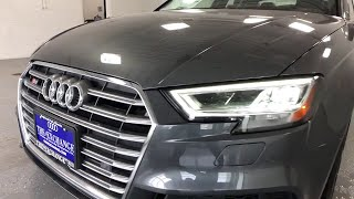 2018 Audi S3 Lake forest, Highland Park, Chicago, Morton Grove, Northbrook, IL A181814