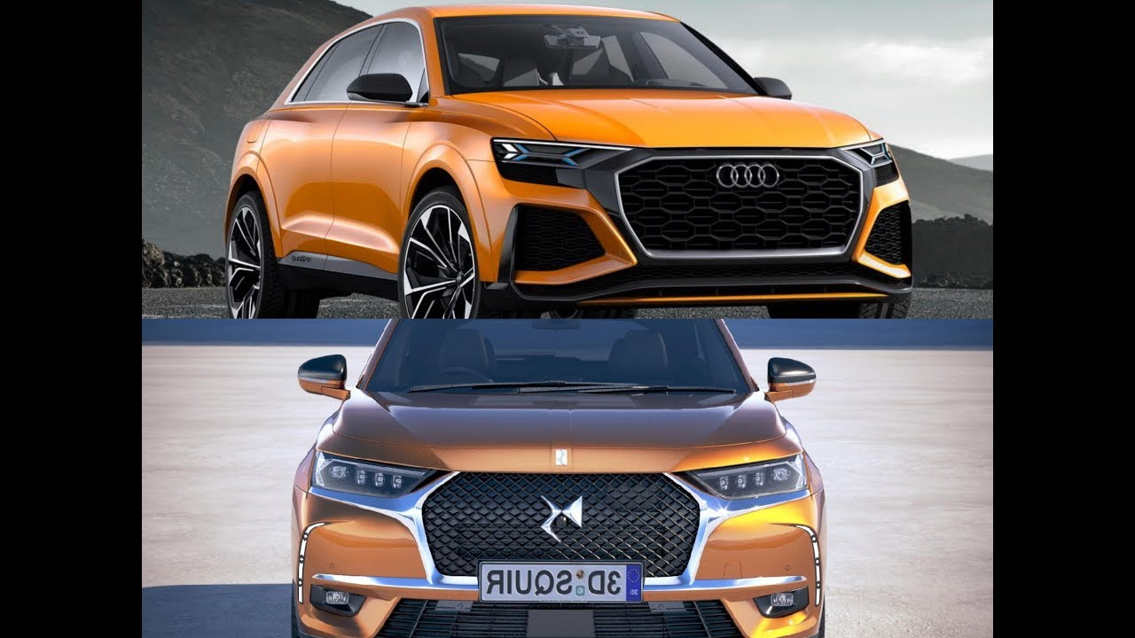 new 2019 ds7 crossback vs new audi q8 2019 youtube. Black Bedroom Furniture Sets. Home Design Ideas
