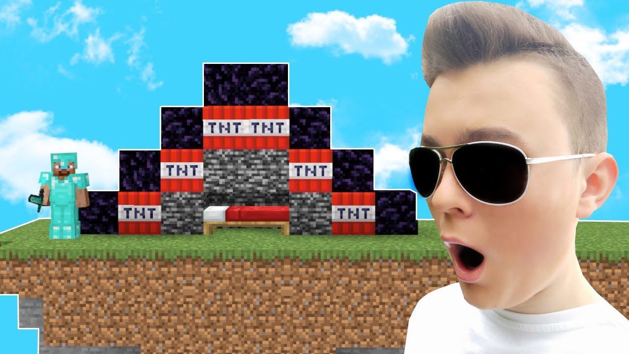 TRAFIŁEM na NAJLEPSZEGO GRACZA BED WARS! - Minecraft