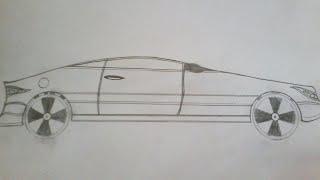 Как нарисовать машину-спорткар карандашом поэтапно(В этом видео я покажу вам как нарисовать машину карандашом поэтапно., 2016-05-16T12:57:31.000Z)