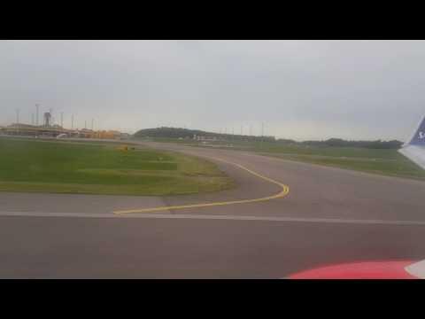 Take off Malmö airport